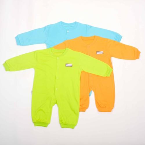 Foto Produk Jumper Panjang Rib warna tua -Blessing babywear (SZ Allsize-Set 3pcs) dari BLESSING Babywear
