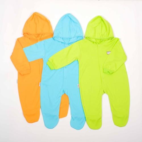 Foto Produk Jumper Panjang Kaki Tutup Topi warna tua-Blessing babywear-SZ:Allsize dari BLESSING Babywear