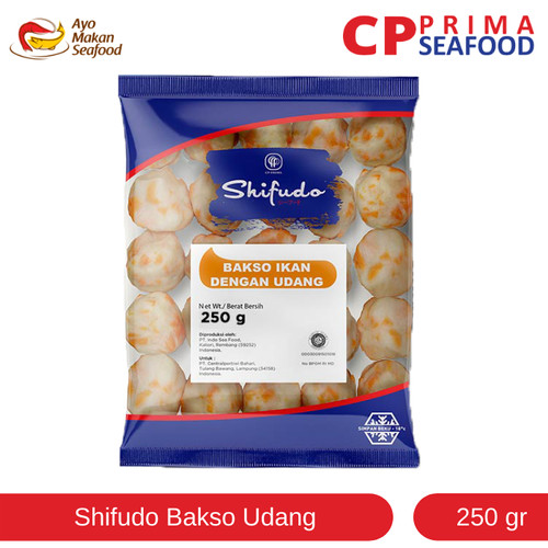 Foto Produk Shifudo Bakso Udang 250 gr dari CP Prima Seafood