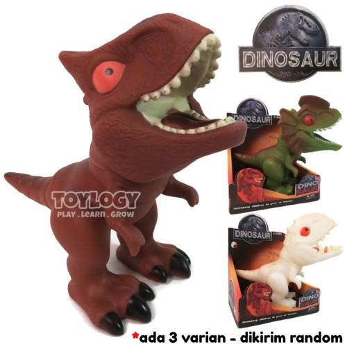 Foto Produk Mainan Anak Figure Dinosaurus Dinosaur Dino Binatang Karet dari Toylogy