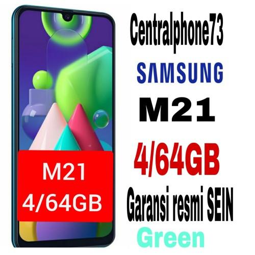 Foto Produk Samsung M21 4/64GB - GARANSI RESMI SEIN - Hijau dari centralphone73