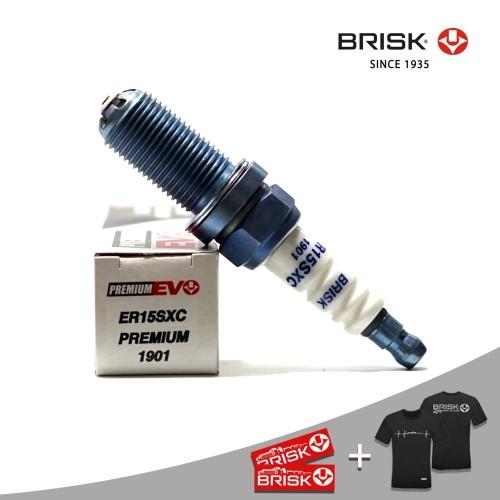 Foto Produk Busi Mobil BRISK Premium EVO ER15SXC dari PT Brisk Busi Indonesia