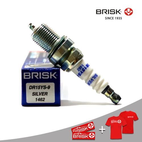 Foto Produk Busi Mobil BRISK Silver DR15YS-9 dari PT Brisk Busi Indonesia