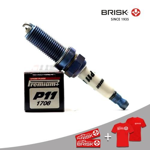 Foto Produk Busi Mobil BRISK Premium Plus Iridium P11 dari PT Brisk Busi Indonesia