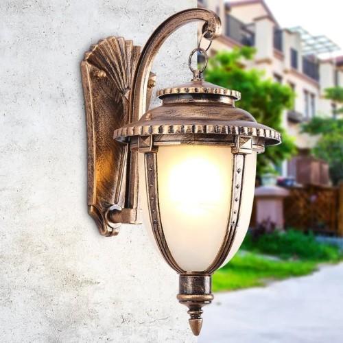 Jual Lampu Dinding Outdoor Klasik Lampu Hias Taman Fiting Standar Kota Tangerang Bintang Lighting Tokopedia