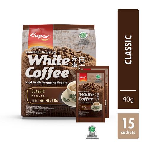 Foto Produk SUPER CHARCOAL ROASTED WHITE COFFEE - CLASSIC 15'S dari supercoffee_everyday