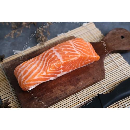 Foto Produk Ikan Salmon Fillet Premium @200gr (100% Norwegian Salmon)SASHIMI GRADE dari Salmon Hu Jakarta
