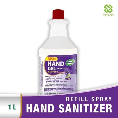 Foto Produk PRIMO HAND GEL Spray 1 LITER REFILL Lavender - Hand Sanitizer dari Primo Official Store