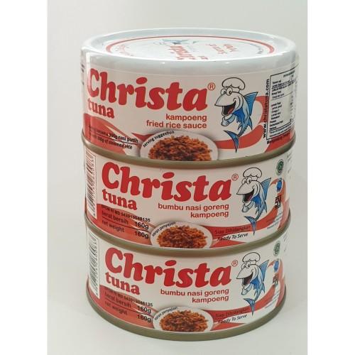 Foto Produk Paket isi 3 Christa Tuna - Tuna Nasi Goreng Kampung Dalam Kaleng dari Christa Tuna Official