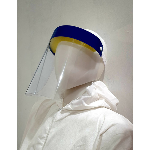 Foto Produk Disposable Face Shield / Helm Petugas Medis / Pelindung Muka - Polos dari GudangSafetyCom