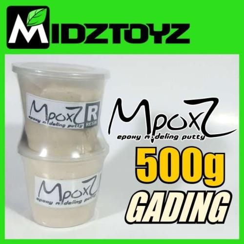 Foto Produk MpoxZ Epoxy putty 500g Gading/ Putih dari Midztoyz