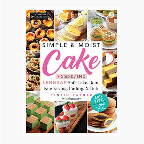 Foto Produk Simple & Moist Cake dari Toko Kutu Buku