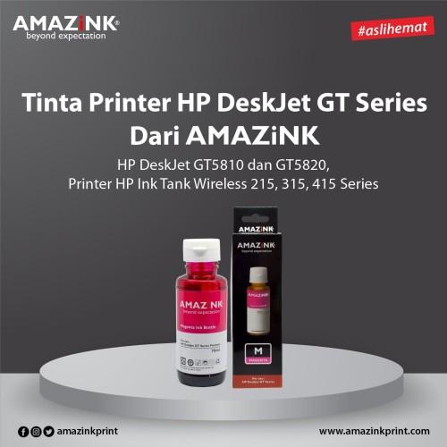 Foto Produk Tinta Printer HP DeskJet GT Series Magenta dari AMAZINK. dari AMAZiNK