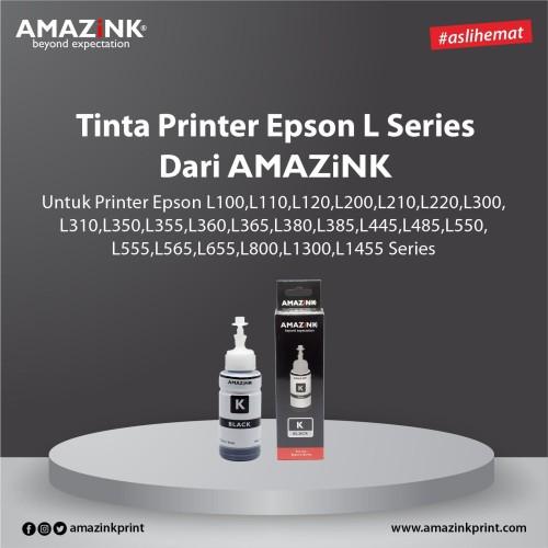 Foto Produk Tinta Printer Epson L Series Black dari AMAZINK dari AMAZiNK
