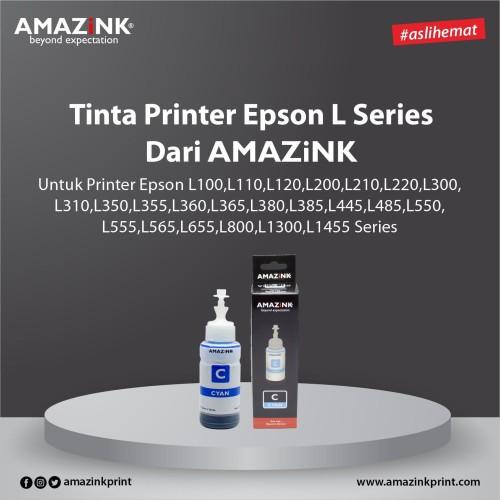 Foto Produk Tinta Printer Epson L Series Cyan dari AMAZINK dari AMAZiNK