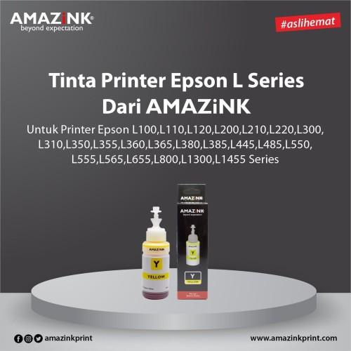 Foto Produk Tinta Printer Epson L Series Yellow dari AMAZINK dari AMAZiNK