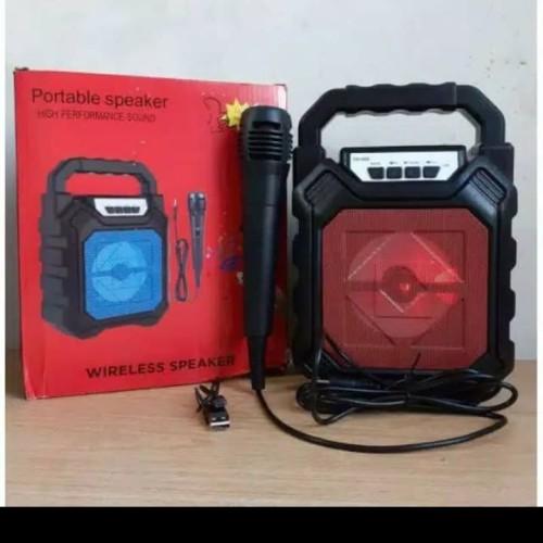 Foto Produk speker bluetooth 668 + mic dari Ajp online shop88