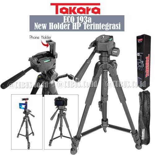 Foto Produk Tripod Takara eco193a New Lightweight For Camera Smartphone Video Cam dari Cubus_Co_ID