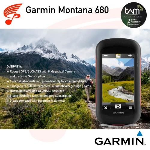 Foto Produk Garmin GPS Montana 680 dari DUTA PERSADA Instruments
