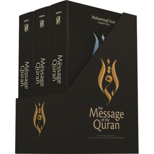 Foto Produk BUKU THE MESSAGE OF THE QURAN - TAFSIR ALQURAN Muhammad Asad dari Mizanstore