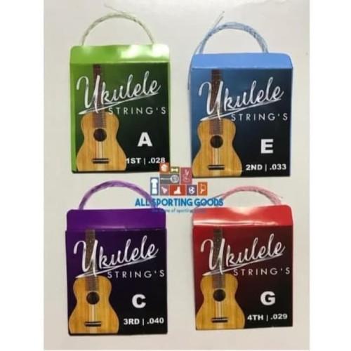 Foto Produk Senar Gitar Ukulele Warna SET murah 4 senar dari GoBuyStore