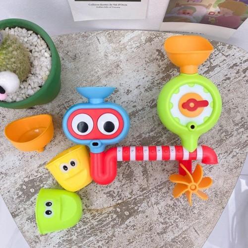 Foto Produk MB197 Mainan Mandi Bayi Anak Pipa Air Mandi Bath Toys Shower dari Mmtoys Indonesia
