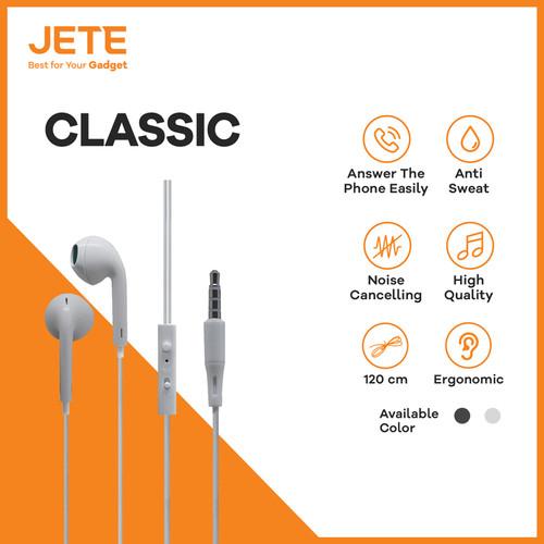 Foto Produk HEADSET | HEADPHONE | HANDSFREE | EARPHONE JETE CLASSIC dari Gadget XStore