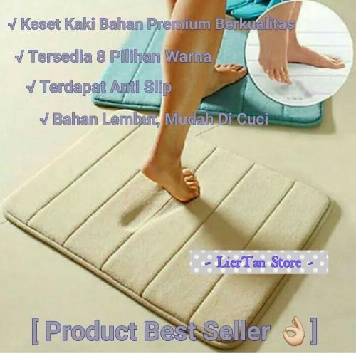 Foto Produk Keset Kaki Anti Slip (PREMIUM COLLECTION) Import dari LierTan Store