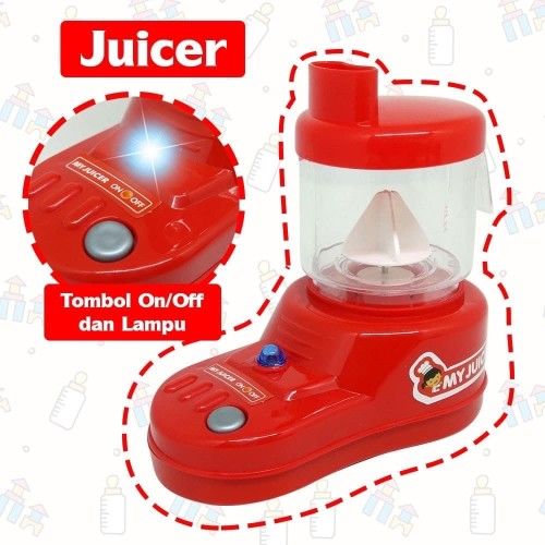 Foto Produk Mainan Anak Dapur Idaman Blender Dan Juicer OCT2028 OCT2029 dari EAZYTOYS
