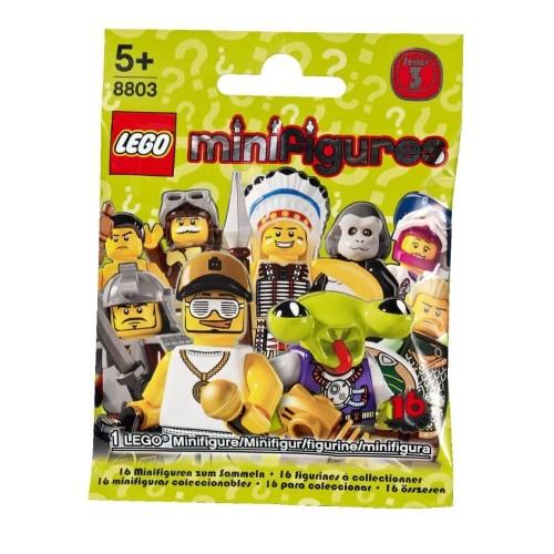 Foto Produk Lego Minifigures Series 3 (Complete Set - 16 pcs) dari Melody Shop