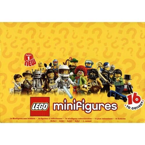 Foto Produk LEGO Minifigures Series 1 ( Complete Set - 16 pcs ) dari Melody Shop