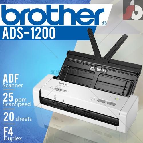 Foto Produk Scanner Brother ADS 1200 - 25ppm dari scanner bandung