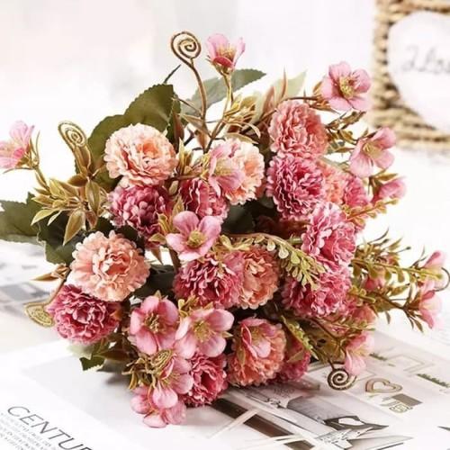 Foto Produk Buket Bunga Carnation Cantik Artificial Beautifull Flower Bouquet dari TwilightShop