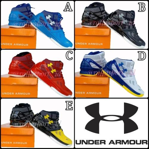 Foto Produk Sepatu Basket Sepatu Olahraga Underarmour dari Raffa-Sport