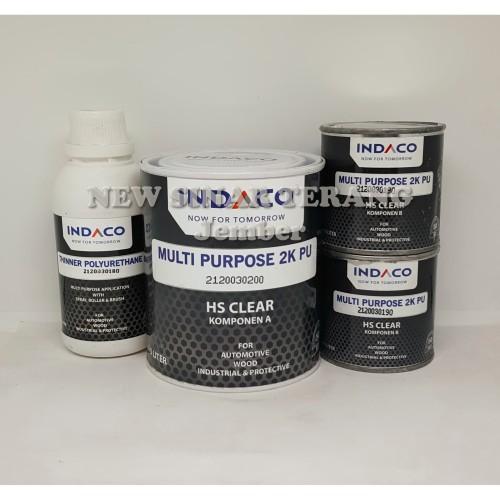 Foto Produk Cat INDACO Multi Purpose 2K PU HS Clear 1 Liter (Wil Jawa & Bali) dari New Sinar Terang