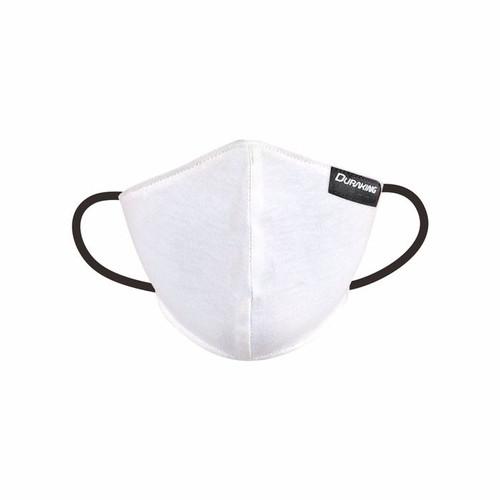 Foto Produk Masker Kain Anti Virus DK DOUBLE PROTECTION EARLOOP MASK COLOUR - Putih dari Duraking Outdoor&Sports