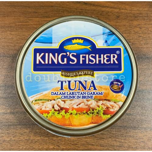 Foto Produk King's Fisher Tuna 170gr / tuna kaleng - tuna in brine dari DoubleCstore