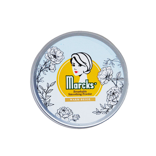 Foto Produk Marcks' Breathable Smoothing Powder Warm Beige dari Kimia Farma Official