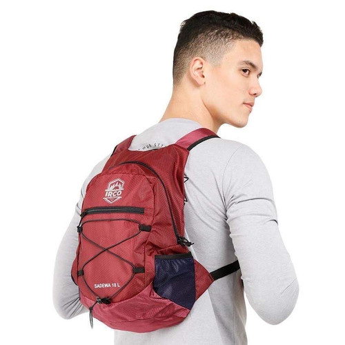 Foto Produk Tas Ransel Lipat - Folding Bag - Tas Gunung - Outdoor Backpack/Daypack - Maroon dari Travelonest
