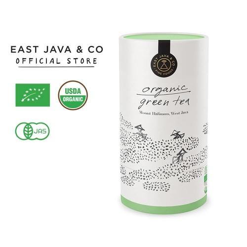 Foto Produk East Java & Co Organic Green Tea - Loose Leaf 40g (Teh Hijau Organik) dari East Java & Co
