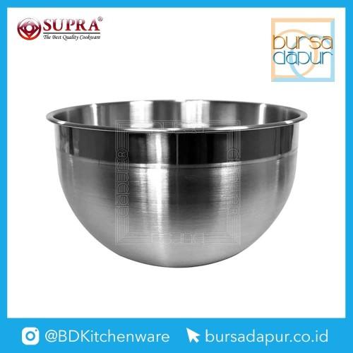 Foto Produk Bursa Dapur Supra Stainless Steel Mixing Bowl 21 cm dari Bursa Dapur