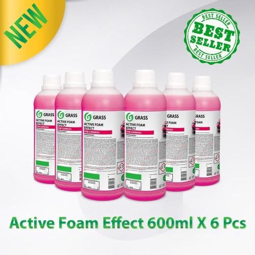 Foto Produk GRASS ACTIVE FOAM EFFECT Touchless Shampoo 600 ml x 6 botol dari GRASS