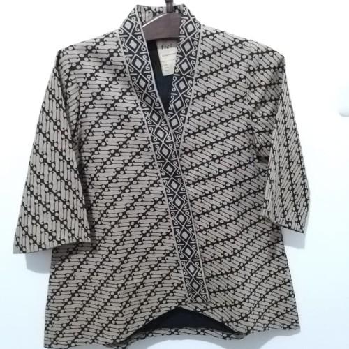 Foto Produk Blus batik - Kream, L dari batik afis