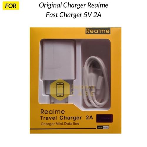 Foto Produk Charger REALME 5V 2A Quick Fast Charger Original 100% dari Jagonya Case