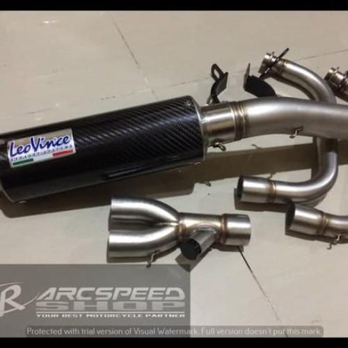 Foto Produk Terbaru Knalpot Leovince Gp Corsa Header Arcspeed V2 Ninja 250Fi Z25 dari nadiahstore2020