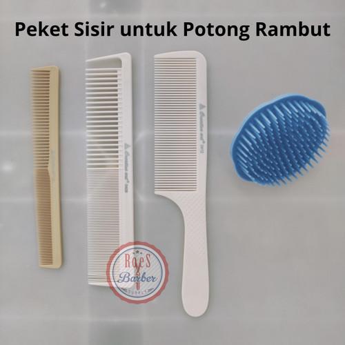 Foto Produk Sisir Rambut / Sisir Potong Rambut Creative Art untuk Barber dan Salon dari Toko Roes