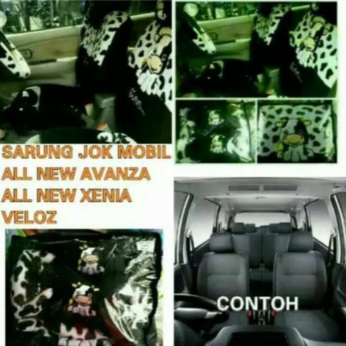 Foto Produk Sarung Jok Mobil All New Avanza-Xenia Set 2012-2014 Motif Moo dari Lintang2