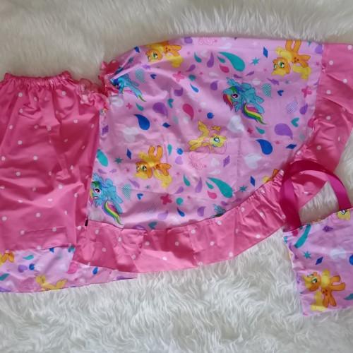 Foto Produk mukena anak katun motif little pony - S 1-2tahun dari tusa