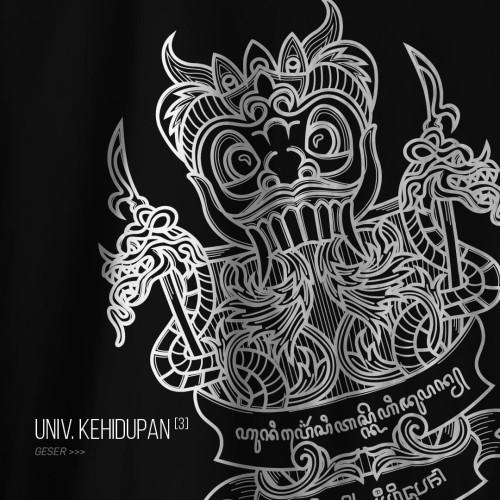 Foto Produk Kaos Bahnoo - Universitas Kehidupan (3) - Hitam, L dari bahnoo