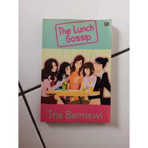 Foto Produk Novel The Lunch Gossip Penulis Tria Barmawi dari Toko Buku Bekas Aksiku